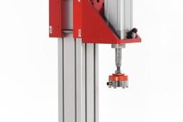 Attuatore pneumatico su binario verticale - Litem
